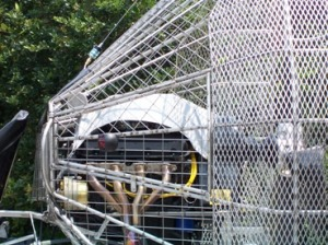 Picture - Airboat - Cage