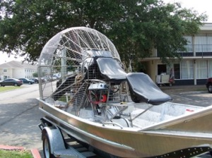 Picture - Airboat - Front