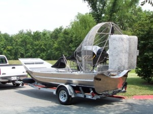Picture - Airboat - Side